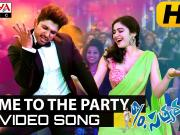 Come To The Party - S_o Satyamurthy Video Songs - Allu Arjun, Samantha, Nithya Menon