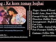 Ki Kore Tomay Bojhai -2015- Imran & Naumi - 720p